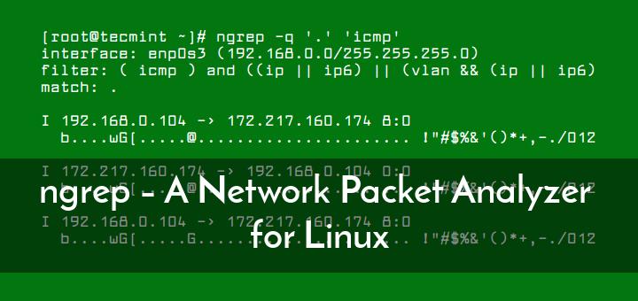 ngrep – Ein Network Packet Analyzer für Linux