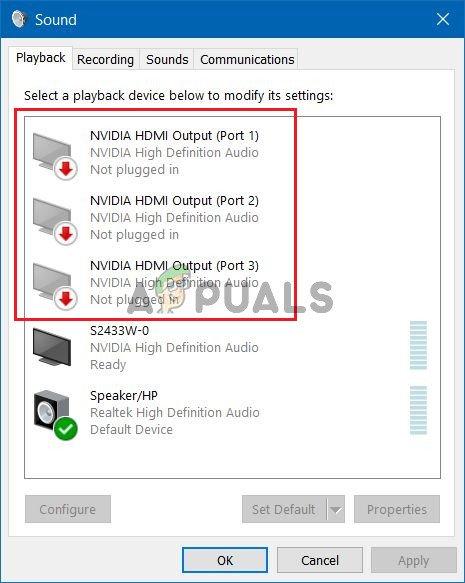 Wie behebt man den NVIDIA-Ausgang, der unter Windows nicht angeschlossen ist?