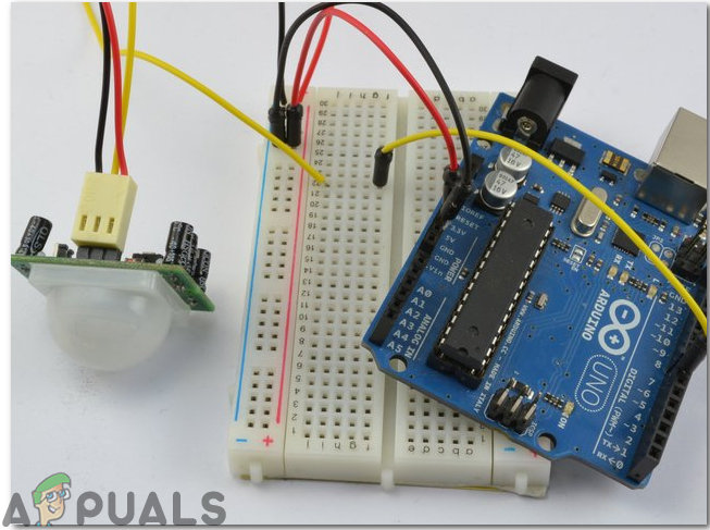 Wie mache ich einen Sicherheitsalarm mit PIR-Sensor und Arduino?