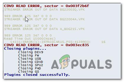 So beheben Sie CDVD READ ERROR im PCSX2 Emulator