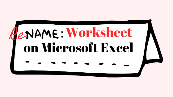 So ändern Sie den Namen eines Blattes in einer Excel-Datei