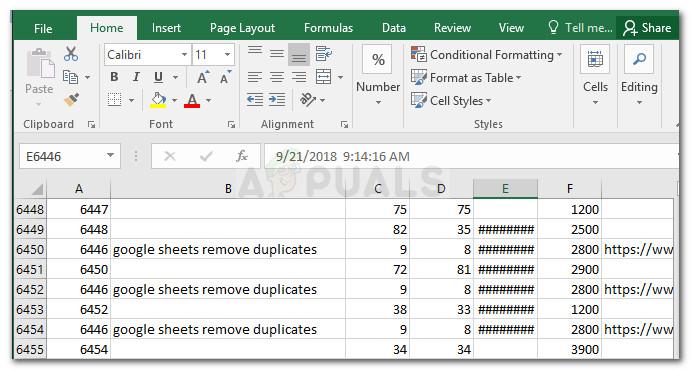 So entfernen Sie Duplikate aus Google Sheets