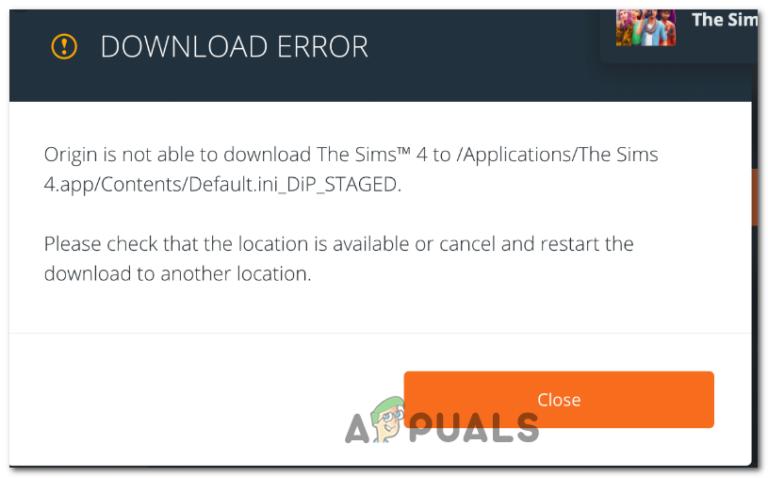 [FIX] Sims 4 wird in Origin nicht aktualisiert