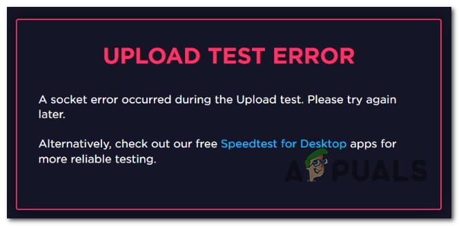 So beheben Sie den bei SpeedTest aufgetretenen Socket-Fehler