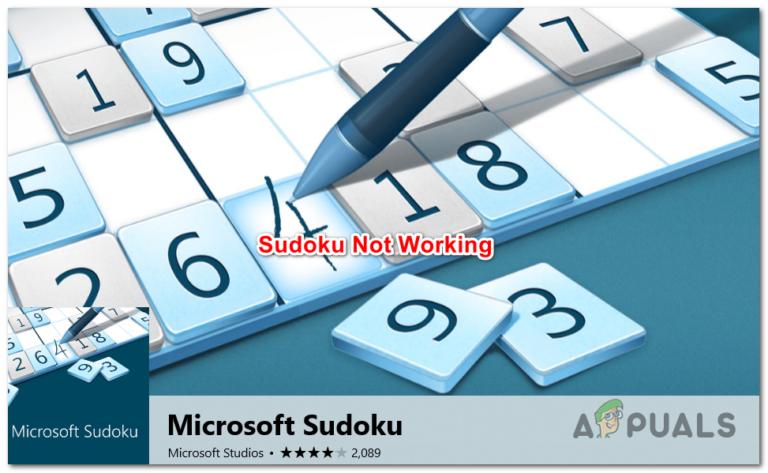 Microsoft Sudoku wird nicht geladen oder stürzt ab