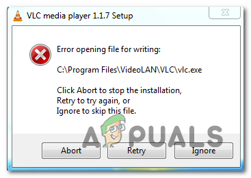 Fix: Datei zum Schreiben kann nicht mit VLC Media Player geöffnet werden