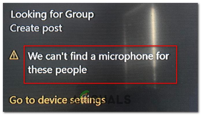 """[FIX] Xbox One-Fehler """"Wir können für diese Personen kein Mikrofon finden"""""""