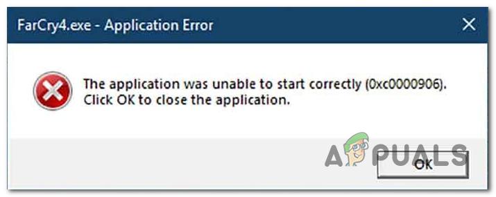Wie behebt man den Windows-Anwendungsfehler 0xc0000906?