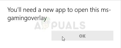 """Wie behebt man den Fehler """"Sie benötigen eine neue App, um dieses MS-Gaming-Overlay zu öffnen"""" unter Windows 10?"""