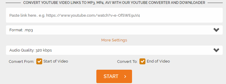 Warum das Konvertieren von YouTube in MP3 mit 320 KBit / s Zeitverschwendung ist