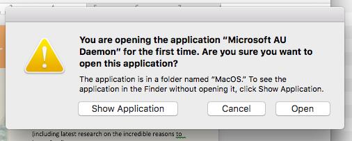 Was ist Microsoft AU Daemon?