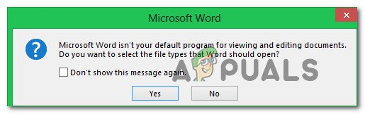 """So beheben Sie """"Word ist nicht Ihr Standardprogramm zum Anzeigen und Bearbeiten von Dokumenten"""""""