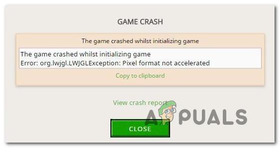 So beheben Sie den Minecraft-Fehler org.lwjgl.LWJGLException 'Pixelformat nicht beschleunigt'