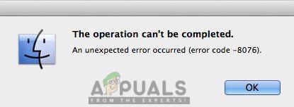 So beheben Sie 'Fehlercode – 8076' unter macOS