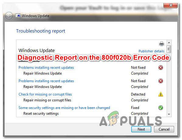 Fix: Fehlercode 800f020b bei der Installation eines Windows Updates