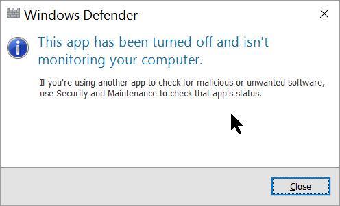 So beheben Sie, dass Windows Defender nicht aktiviert wird