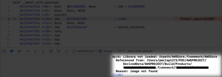 """So beheben Sie den Fehler """"Dyld: Bibliothek nicht geladen"""" unter MacOS"""