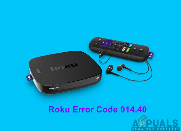 So beheben Sie 'Roku-Fehlercode 014.40'