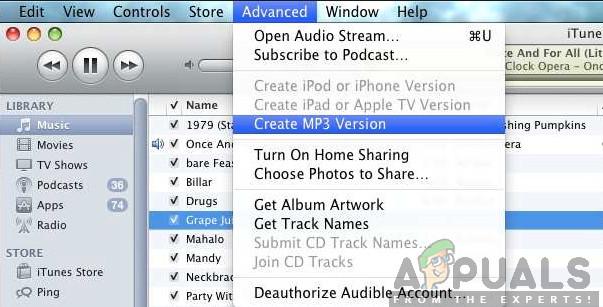 Wie konvertiere ich WAV in MP3?