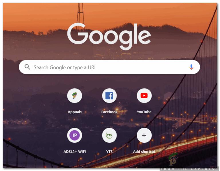 Wie füge ich Thumbnails in Google Chrome hinzu?