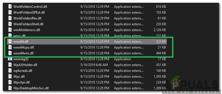 """Was ist die Datei """"WOW64.dll"""" und sollte sie gelöscht werden?"""