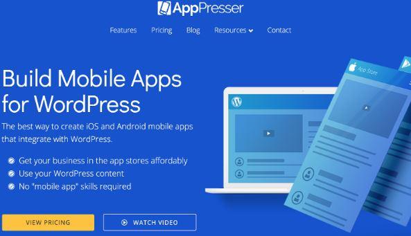 So konvertieren Sie eine WordPress-Site in eine Android-App