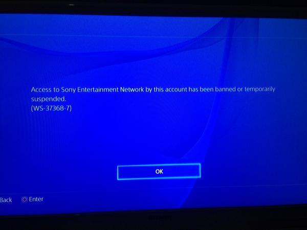 """Was ist """"Fehlercode WS-37368-7"""" auf PlayStation?"""