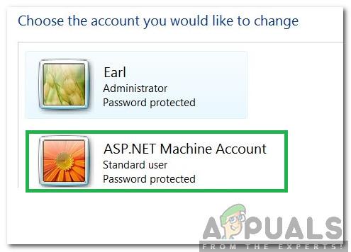 Was ist ein ASP.NET-Computerkonto und sollte es gelöscht werden?