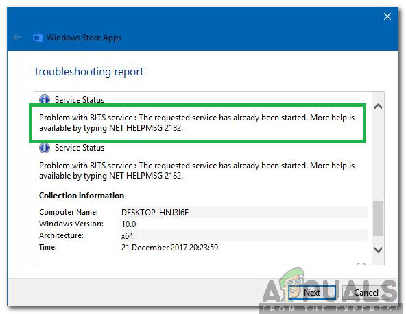 """Wie behebe ich """"NET HELPMSG 2182"""" unter Windows?"""