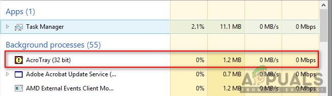 So deaktivieren Sie Adobe AcroTray.exe beim Start