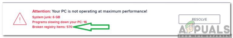 Wie lösche ich defekte Registrierungselemente unter Windows?