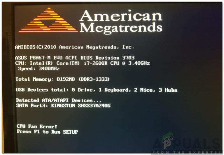 So beheben Sie einen CPU-Lüfterfehler im BIOS