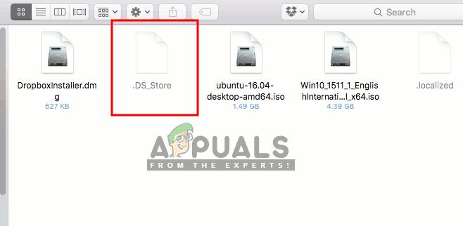 Was ist .DS_Store und wie wird es von Ihrem MacOS entfernt?