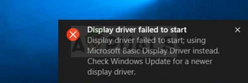 """Wie kann der Fehler """"Anzeigetreiber konnte nicht gestartet werden"""" unter Windows behoben werden?"""