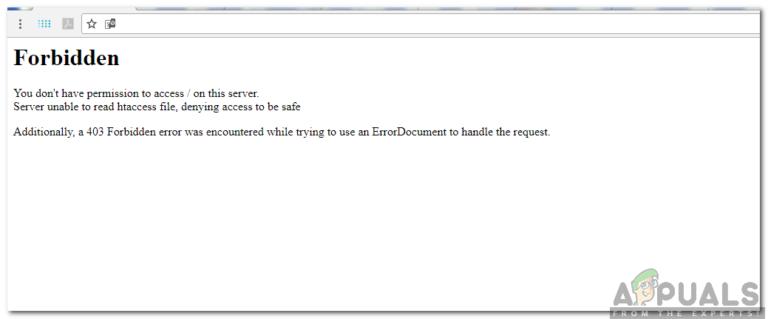 """Wie kann ich """"Verboten – Sie haben keine Berechtigung zum Zugriff auf / auf diesem Server"""" in einer Domain nach dem Einrichten von Apache beheben?"""
