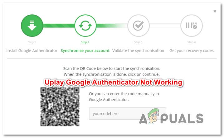 So beheben Sie, dass Uplay Google Authenticator nicht funktioniert