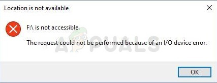 Wie kann ich beheben, dass die Anforderung aufgrund eines E / A-Gerätefehlers unter Windows 10 nicht ausgeführt werden konnte?