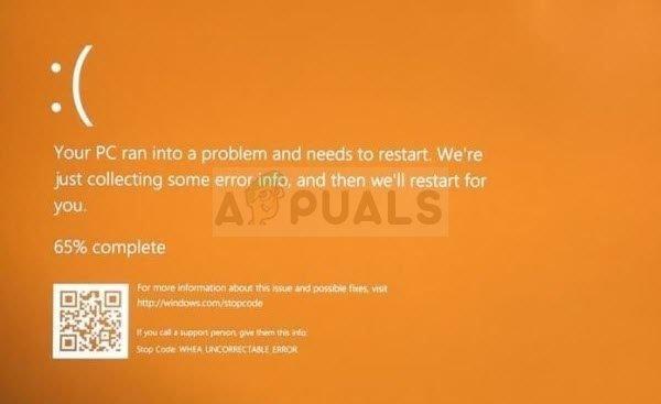 Wie behebe ich den orangefarbenen Bildschirm des Todesfehlers unter Windows?