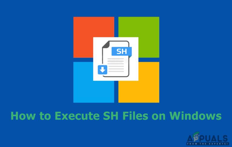 So führen Sie SH-Dateien unter Windows aus