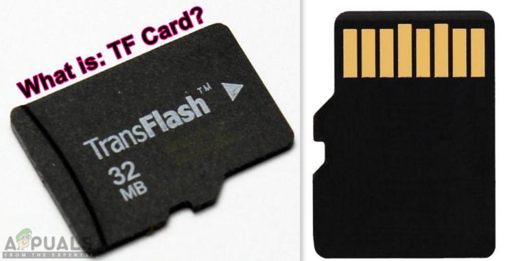 Was ist: TF (TransFlash) -Karte und wie unterscheidet sie sich von Micro SD?