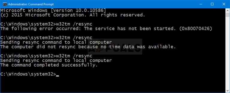"""So beheben Sie den Fehler """"Der Computer wurde nicht erneut synchronisiert, weil keine Zeitdaten verfügbar waren"""" unter Windows"""