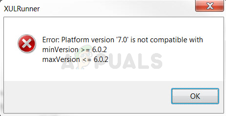 Fix: XULRunner Error Platform Version ist nicht kompatibel