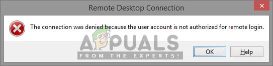 So erlauben Sie Standardbenutzern RDP / RAS unter Windows 7 und 10