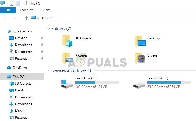 Fix: Datei-Explorer wird unter Windows 10 zufällig geöffnet