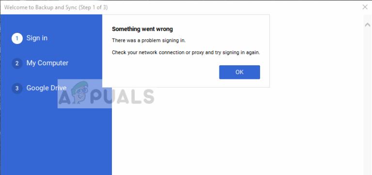 Fix: Google Drive wird unter Windows 10 nicht synchronisiert