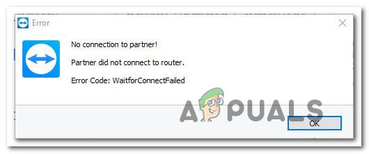 Fix: Partner hat in TeamViewer keine Verbindung zum Router hergestellt