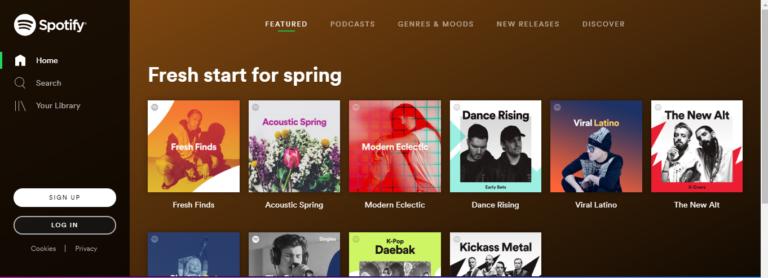 Fix: Spotify Web Player wird nicht abgespielt