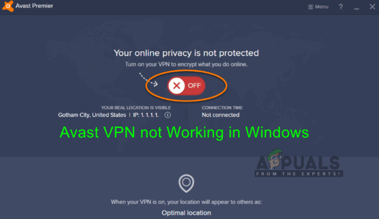 Fix: Avast VPN funktioniert nicht