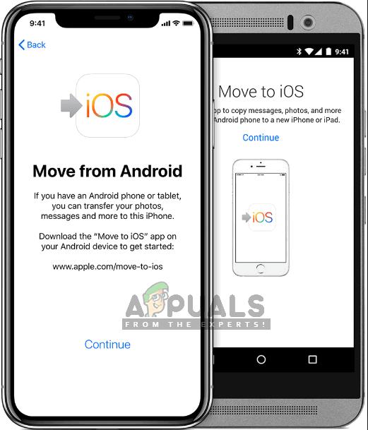 Fix: Wechseln Sie zu iOS funktioniert nicht