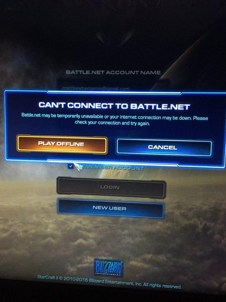 Fix: Fehler kann keine Verbindung zu BATTLE.NET herstellen